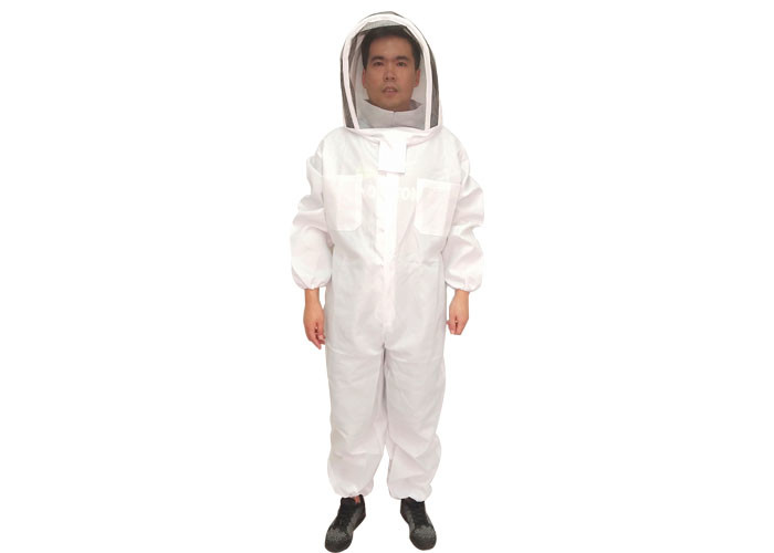 Economy Type Beekeeping Protective Clothing With Pencing Vail